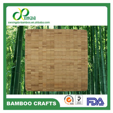 3.3cm food grade bamboo mincing cutting board with oil finished