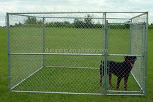 10x10x6ft Outdoor galvanized chain link extra large dog cage
