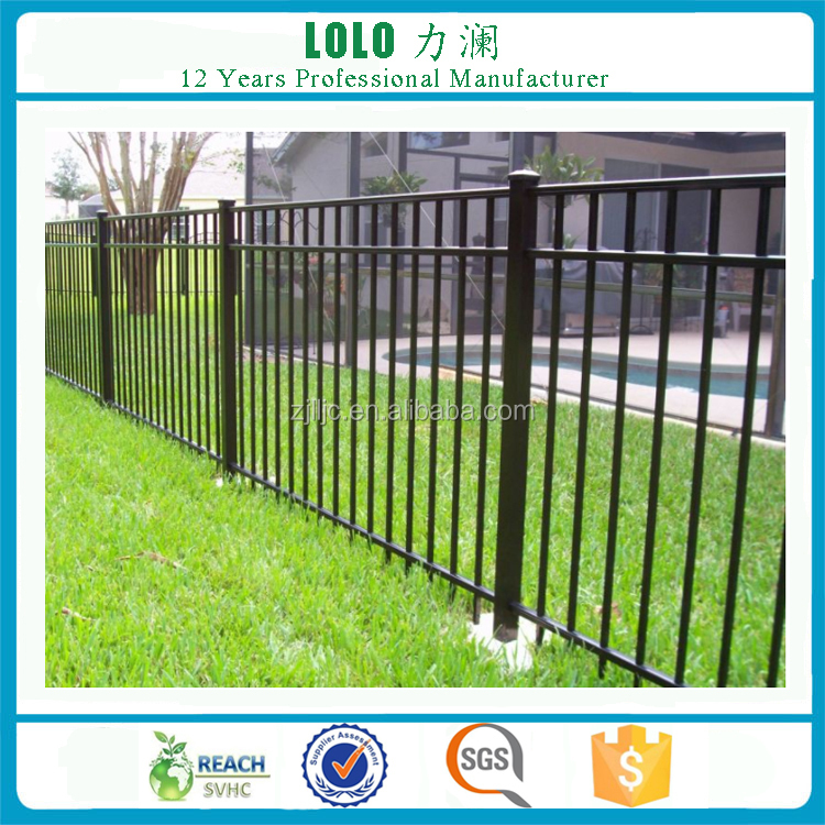 House Safety Galvanized Steel Tubular Fence Panels Designs