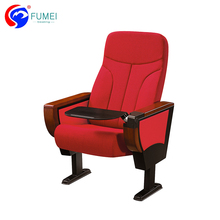 Good selling plywood seat auditorium chairs plastic with table
