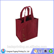 Eco-friendly Material Meet EN71,Phthalate&AZO Free,Low Lead& jute wine bag made in China