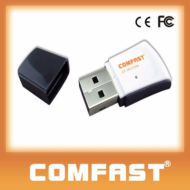 COMFAST CF-WU720N 150Mbps <strong>Portable</strong> Wifi Support HDTV Long Range Bluetooth Adapter for PC