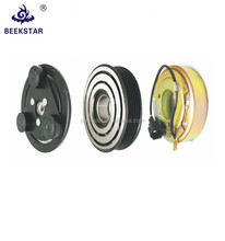Wholesale auto compressor magnetic clutch OEM:BSR-60006 for Teana zexel dks17d bearing size: 35*55*20 belt size: 6PK 130mm