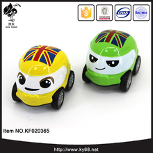 Cartoon lovely mini metal car toy alloy diecast model car