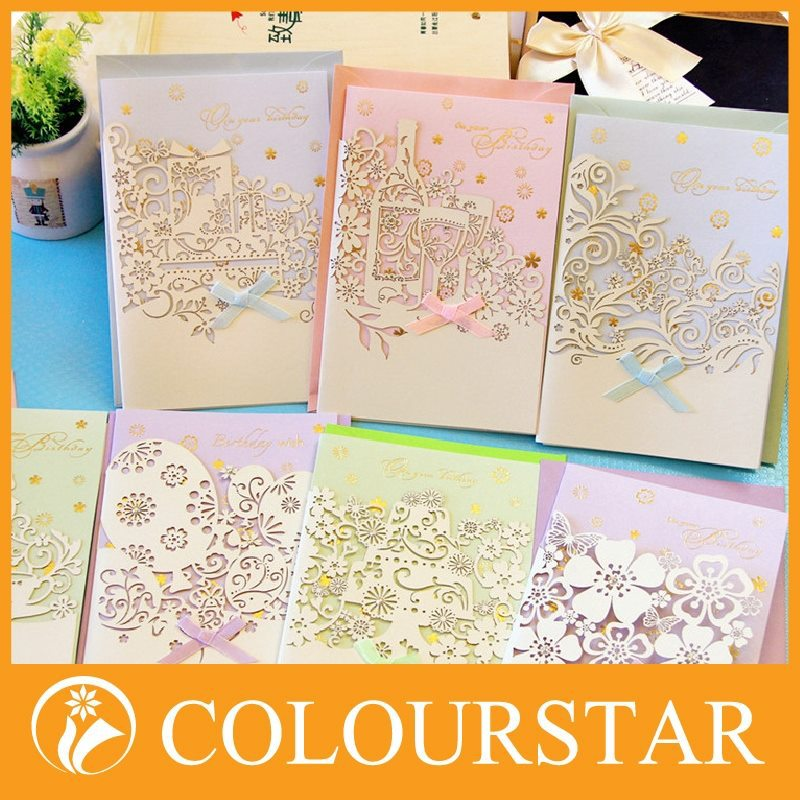 Cute greeting paper cards international