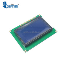 Graphic Matrix LCD 12864 LCM Display Module STN Blue Backlight White Character 5V