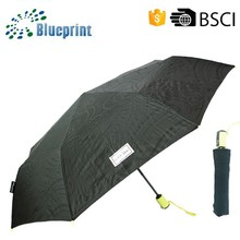 Auto open close 3 Section Protection Quality Custom Umbrella