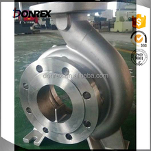 custom stainless steel casting industrial machine pump body with ISO 9001