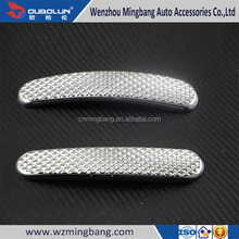 ABS Chrome 3D sticker Door Handle Cover For Mercedes-Benz Smart 2015 car-styling Car Exterior Decoration Accessories