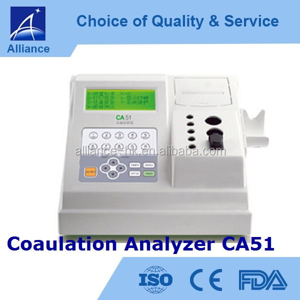 Medical Coagulation Analyzer CA51 CE FDA ISO