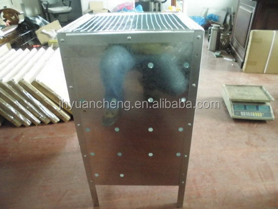 Long-life promotional portable incinerator