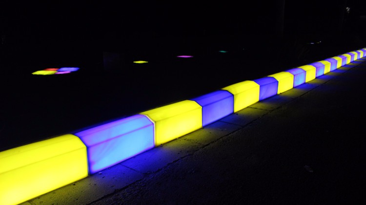 Specification And Dimensions Led Curbstone,PE for curb landscaping ideas