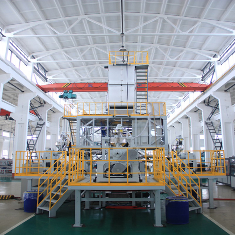 CE certification PP/PE hot shrinkable film blowing machine