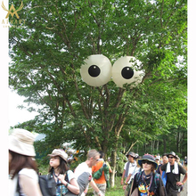 custom inflatable eyeball replicas to decorate the tree and other plant custom inflatable yard decoration garden decoration