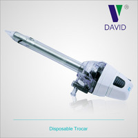 Hot selling factory directly plastic disposable medical equipment trocar (with blade head) of DAVID