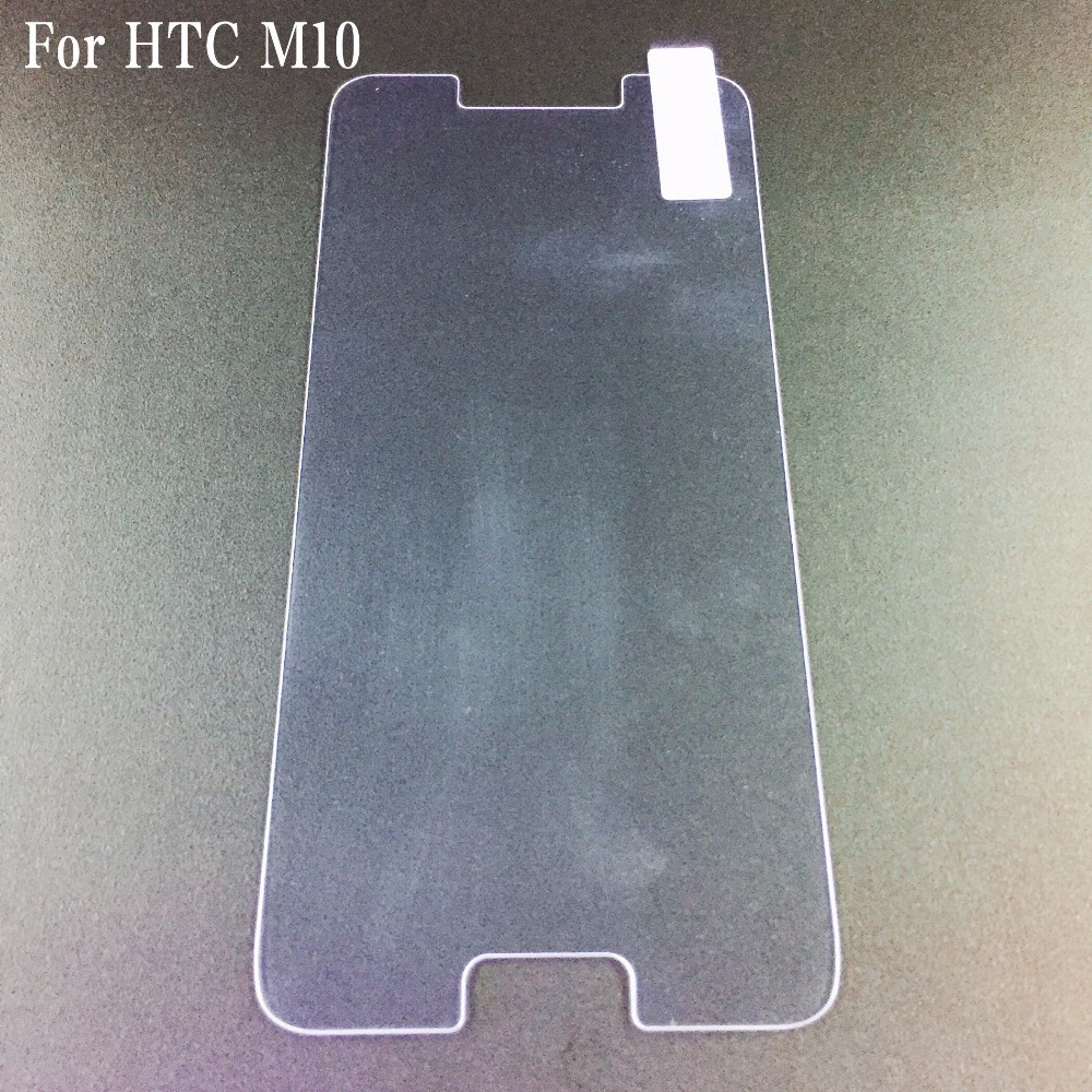 High quality Mobile <strong>phone</strong> 0.3mm 2.5D Tempered Glass Screen Protector For HTC <strong>M10</strong>