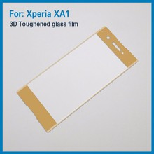 9H Hardness 3D Full Cover Tempered Glass Screen Protector for Sony Xperia XA1 with Anti-fingerprint Bubble-Free
