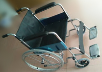 SC809KD, fast knock down wheelchair, standard wheelchair,rear wheel pneumatic - air tires