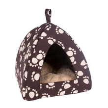 wholesale plush warm polyester unique cute cheap dog houses