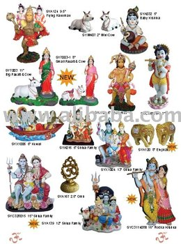 Polyresin Hindu God Statues, Indian Gods, Pooja Products