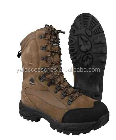 High Quality Waterproof leather Snow hunting /Jungle boots