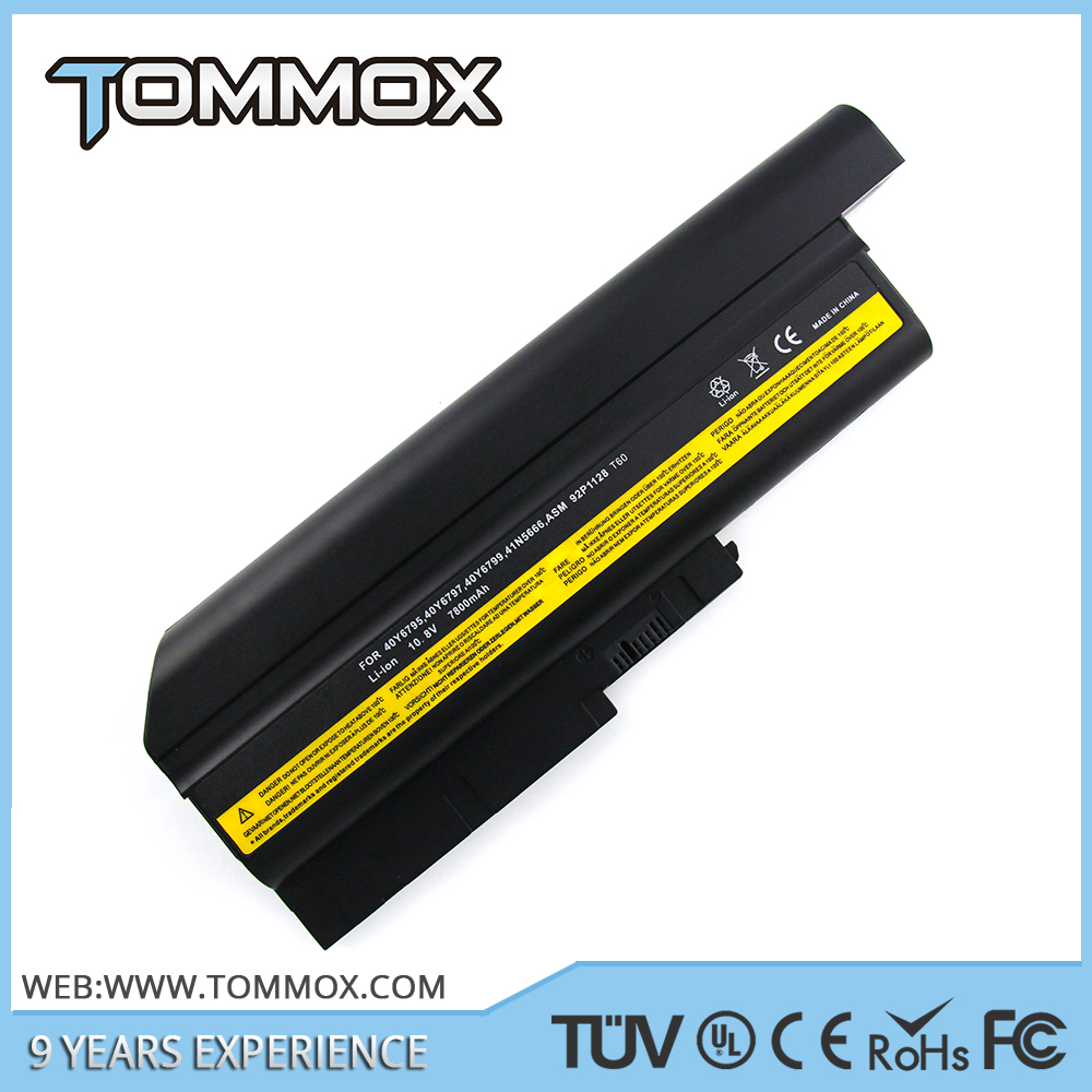 42T5227 42T4531 replacement laptop battery for Lenovo ThinkPad T400,R400,T61,R61 laptop parts