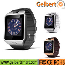 High quality android dz09 smart watch phone with sim card slot