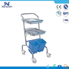 Stainless steel surgery Treatment trolley/cart