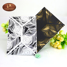 Pocket Fold Laser Cut Unique Wedding Invitations Suite ,Pearl Paper Printed Invitation Template,Envelopes, Editable Text,Digital