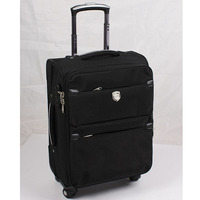 Fashion canvas material luggage travel bags