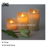 aroma candle moving wick led candle set (WM-102)