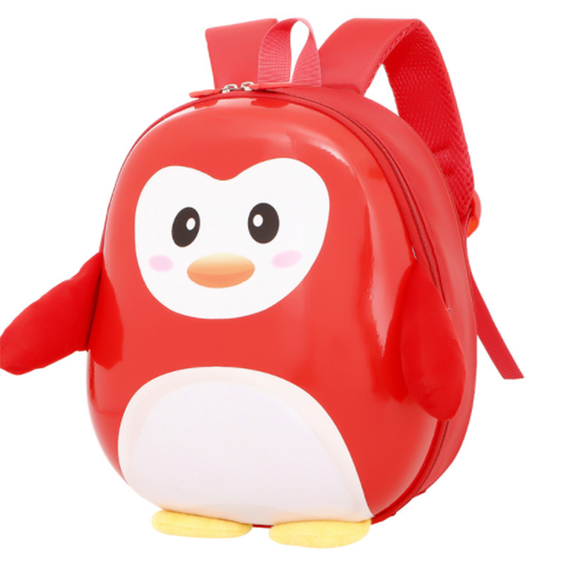 Hot sale cute cartoon penguin shape pc school backpack bags for 3-6 years kids