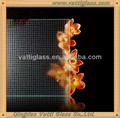 High quality decorative acid etched glass