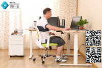height adjustable desk frame adjustable table for keyboard and mouse