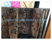 Brand New Printed rayan flock fabrics for garments