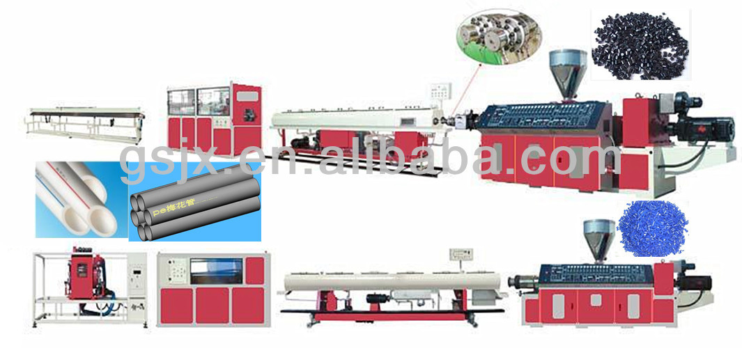 Small PE PVC UPVC Pipe Manufacturing Machine