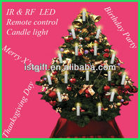 Remote control electric candle Christmas tree light LED