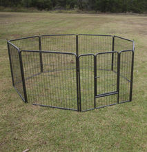 HOT dip -galvanized welded iron wire large Dog Kennel Fence Panel