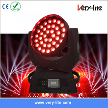 New Type ! 36*10W 4-in-1 Led Moving head Zoom Wash Stage Lighting
