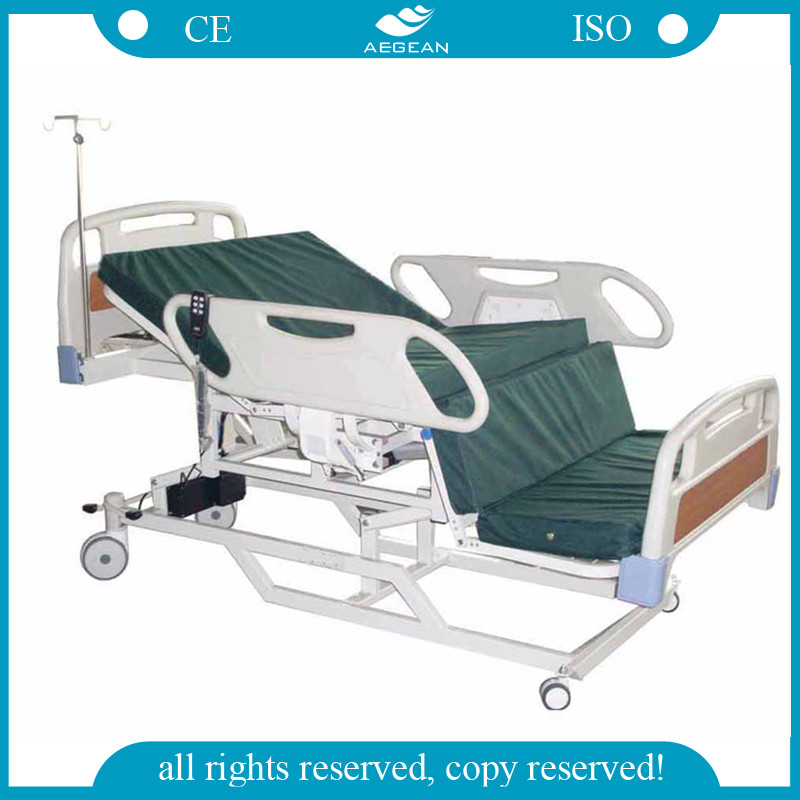 AG-BM119 health care product folding chair patient used medicall bed for sale nursing electric hospital bed