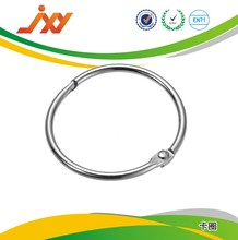 High quality loose leaf binder hinged snap rings for file clips