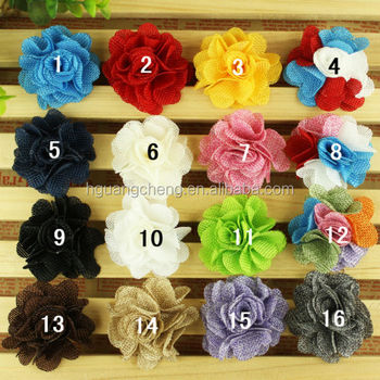 6cm rainbow shabby rose trim satin flower mini ribbon roses