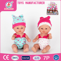 Vinyl material 6 inch baby doll manufacturer china