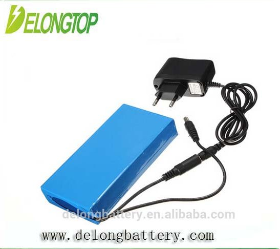 Small rechargeable 12v battery DC 12v 15ah super rechargeable mini 12v rechargeable battery with EU charger