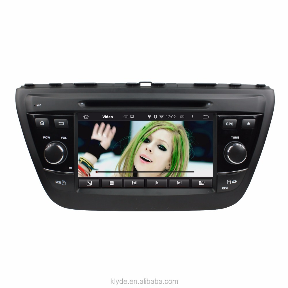 High quality in-dash 2 din 7 inch HD touch screen Android 5.1.1 car dvd player with gps radio for SUZUKI SX4 / S Cross 2014