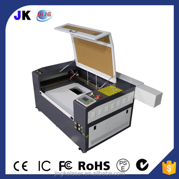 Mini portable co2 laser engraving machine price , cheap laser cutting machine for paper wood