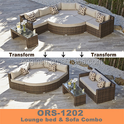 Vintage style space saving versatile waterproof rattan patio set big lots outdoor <strong>furniture</strong>