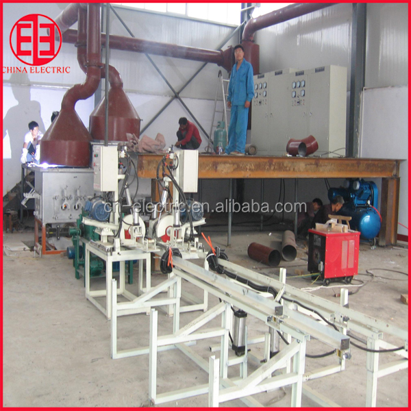 Horizontal continuous casting machine for copper and bras bar