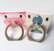Newest iRing Holder Hook Universal Mobile Phone 3D Metal Ring Stand Holder Mount Holder Finger Grip for iPhone