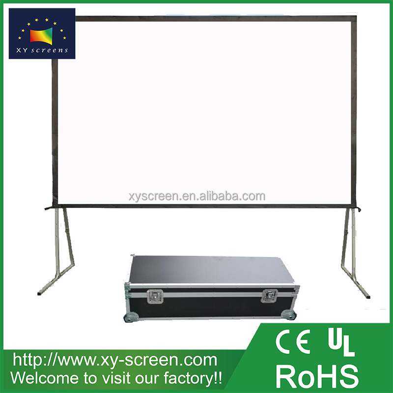 XYSCREEN Cardboard Fast Folding Projector Screen